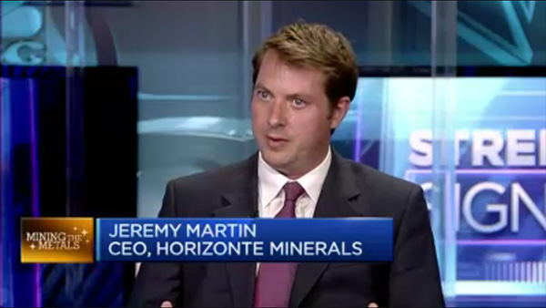 CNBC interview with Jeremy Martin
